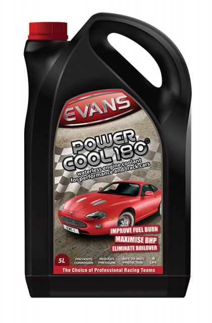 Chladiaca kvapalina EVANS Power Cool 180 (5L)
