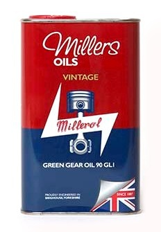 Vintage Green Gear Oil 90 GL1  (1L)